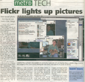 flickr featured in metro toronto {notes}